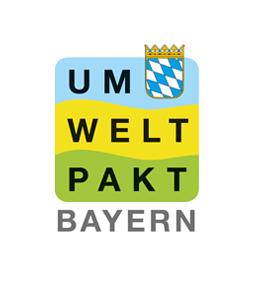Das Logo des Umweltpakts Bayern